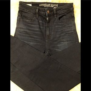 America Eagle outfitters highest rise jegging